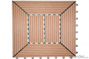 WPC Interlocking Deck DIY Tile DIY Decking WPC Decking