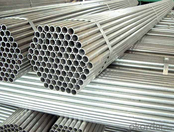 Galvanized Steel Pipe Threaded on Both Ends