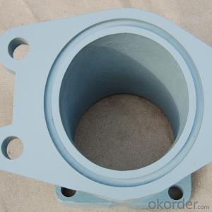 Concrete Pumps Spare Parts SCHWING Square Flange Elbow