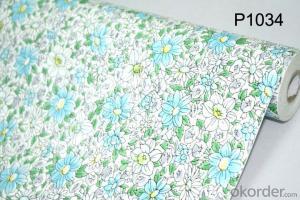 Self-adhesive Wallpaper Textured Eco-friendly Fancy Interior PVC Wallpaper Designs