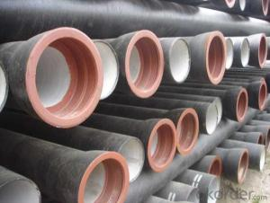 Ductile Iron Pipe ISO2531 1998 DN1800 On Sale