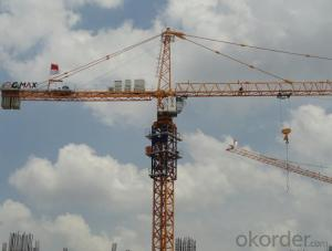 Tower Crane TC7533 with 20 Ton Max Load and Span 75M