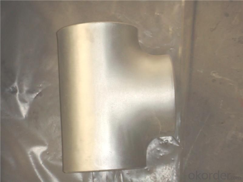 Steel Pipe Fittings Butt-Welding Reducing Outlet Tees High Pressure