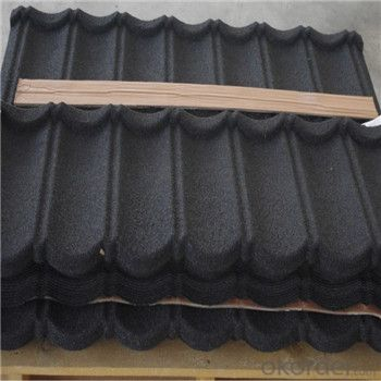 Stone Coated Metal Roofing Tile Red Green Blue Black High Quality