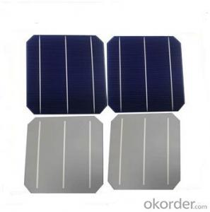Monocrystalline Solar Cells High Quality 16.00%-18.20%