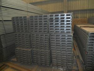 JIS SS400 Steel Channel with High Quality 75mm