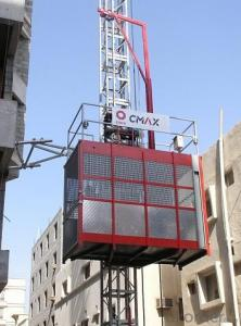 Passenger Hoist with Model of SC100/100 with 1 Ton per Cage