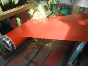 Color Coated Steel Sheet/ Coil in Red Color Prime