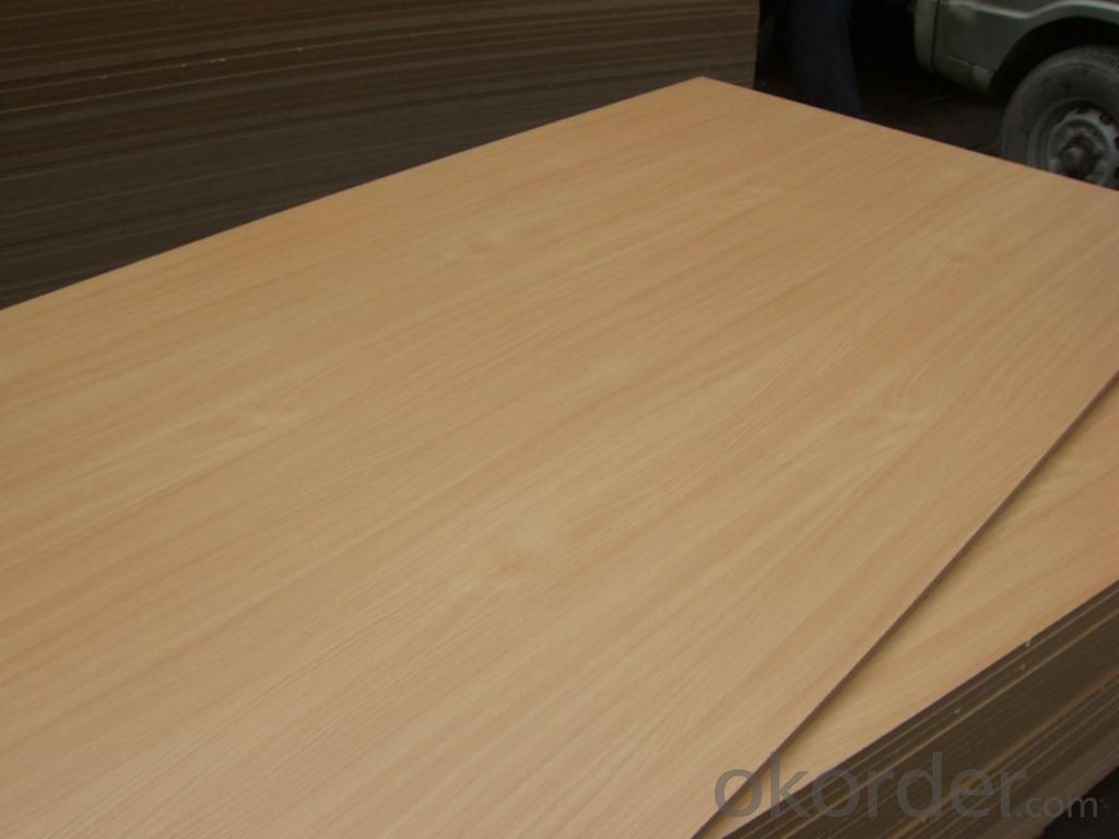 High Glossy Melamine MDF Wood Grain for Home Usage