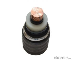 XLPE Insulated No Halogen Low Smoke Fire Retardant Power Cable For Rated Voltage
