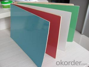 GLOSSY AND MATT POLYESTER PLYWOOD FOR DECORATION AND FURNITURE