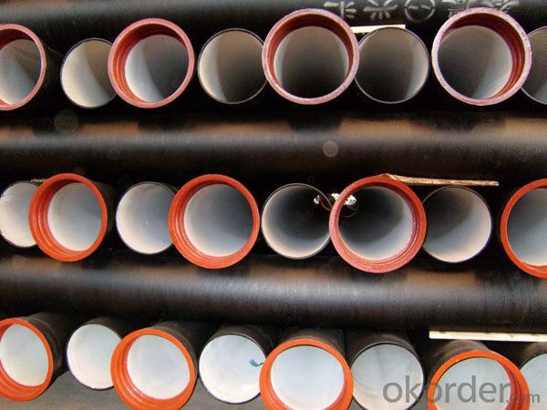 Ductile Iron Pipe Cast Iron ISO2531 1998 DN600