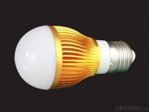 9W LED bulb light, 850Lm, CRI80, 60W incandescent, UL