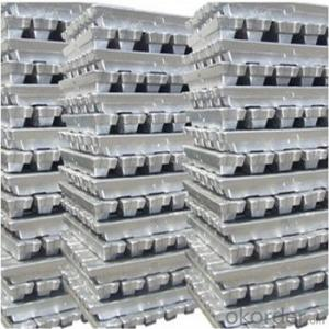 Aluminium Ingot 99.7% National Standard Pure