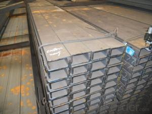 Hot Rolled Steel U Channek beams for Construction of Warehouses