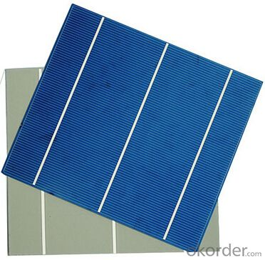Polycrystalline Solar Cell High Quality 17.40-19.20% Effy
