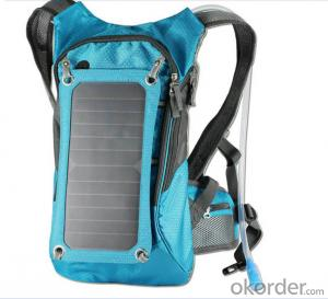 7Watts Solar Camel Bag Solar backpack Solar Powered Charge For Mobile Phones
