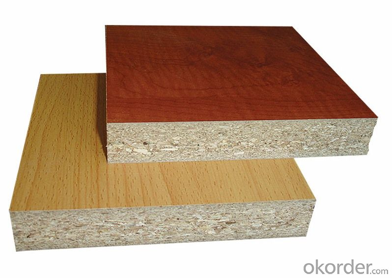 Melamine Face Particle Board Raw Particle Board