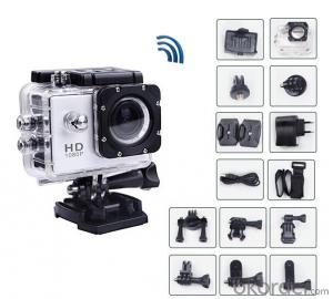 1080P Full HD Helmet Action Cam Action Cam WIFI Action Cam