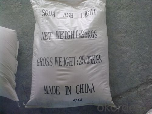 Soda Ash Dense99.2% with High Quality with 25kg Packing and Cheap Price