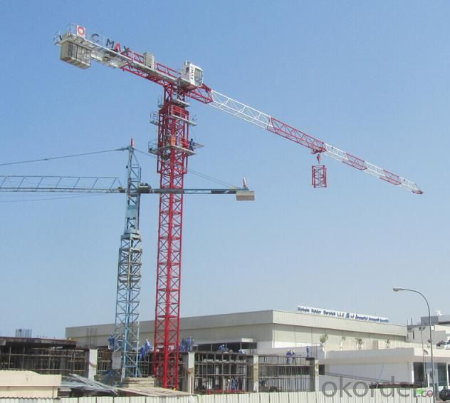 Tower Crane Split in row of weight 16T QTZ250(7027)