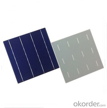 Polycrystalline Solar Cell High Quality 17.2%-18.4% Effy