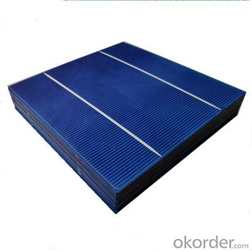 Polycrystalline Solar Cell High Quality 180µm ±20µm