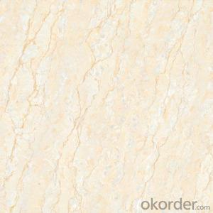 Polished Porcelain Tile The Natural Yellow Color CMAX0524