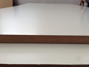 Warm White Melamine MDF Melamine MDF Board