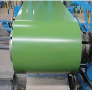 Color Coated Pre-Painted GI/GL Steel Sheet in Green