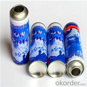 Printing Spray Paint Aerosol Tin Can, 4 Colors