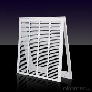 Factory Supply Linear Air Grilles Baseboard Use