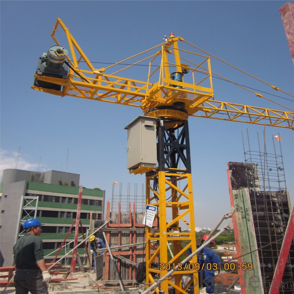 Buy Tower Cranes Inner Climbing Model Of Qtg10 Price Size