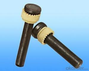 Welding Stud and Ceramic Ferrule for Steel Construction