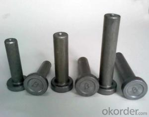 Welding Studs and Ceramic Ferrule for Steel Constructions