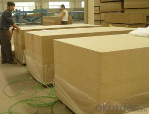 Plain MDF Board 14mm Thickness Light Color
