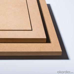 Plain MDF Board 25x1220X2800MM Light Color