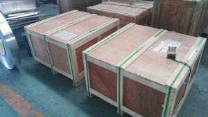 1100-H124 aluminium sheet and aluminium slab in warehouse