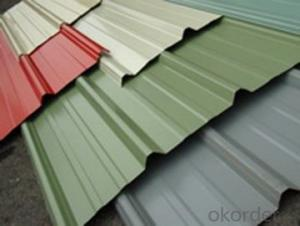 Colored Corrugate GI Coated Roofing Sheet