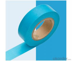 Color Blue Car painting  heat resistant Masking Tape