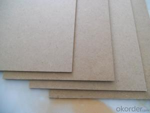 Plain MDF Board 17x1220X2800MM Light Color