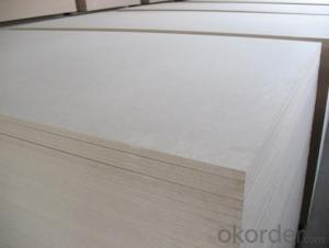 Plain MDF Board 11mm Thickness Light Color