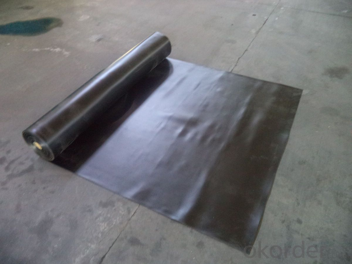EPDM Waterproof Rubber Membrane with 2.0mm Thickness
