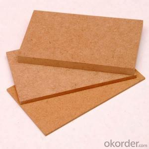 Plain MDF Board 15x1220X2800MM Light Color