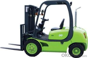 Forklift Truck  890 3000mm Lift Height With CE ISO