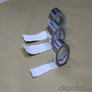 Aluminum Foil Tape with White Release Paper T-4001SP