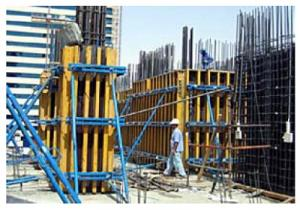 Timber Beam Column Formwork System