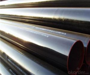 Steel Pipe Painted  Black High Quality with API  5L