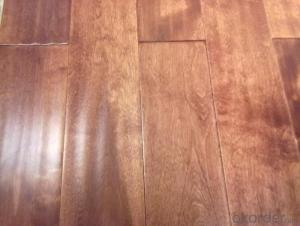 Yongsen Red Maple Antique Solid Wood Floor