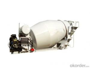 Small CS4/6-R  Concrete Mixer Truck Drum